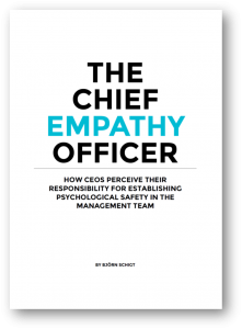 The Chief Empathy Officer frontpage STRATZR.com