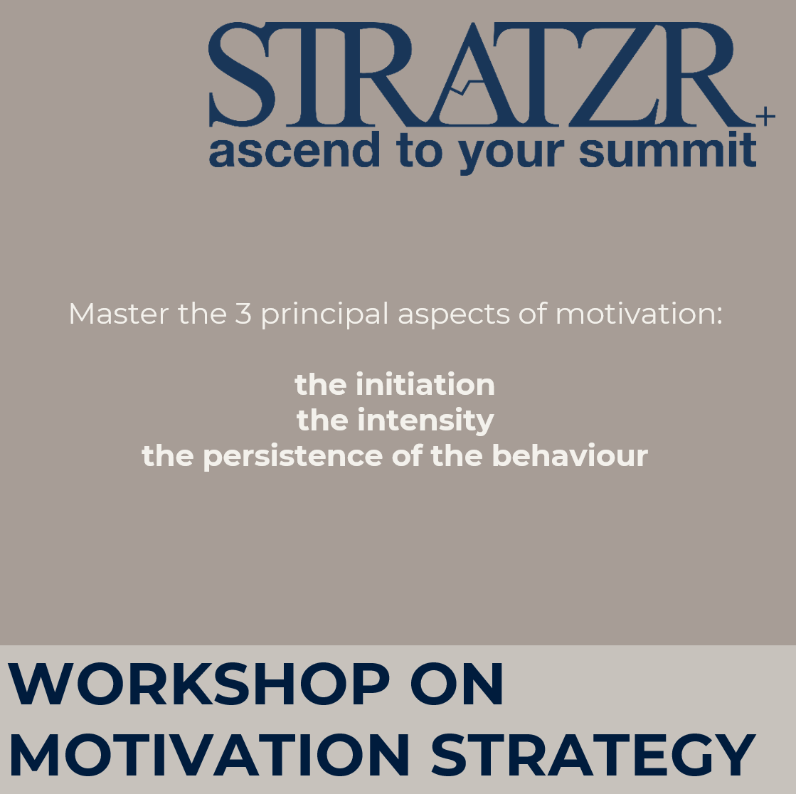 motivation strategies workshop laure freydefont by STRATZR.com leadership coaching and development