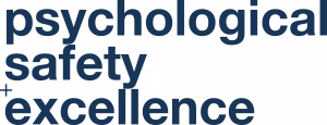 psychological safety excellence logo by STRATZR blue